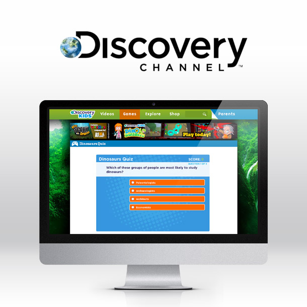 Discovery Channel Trivia Website