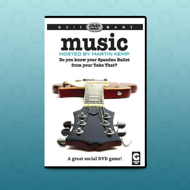Martin Kemp Music Quiz