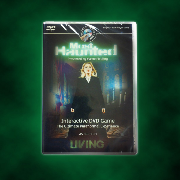 The official Most Haunted Interactive DVD Game