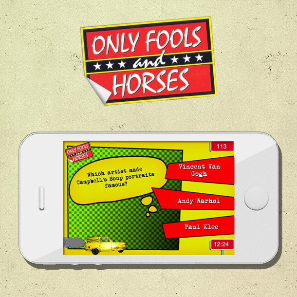 Only Fools And Horses Plonker Test Mobile App Game
