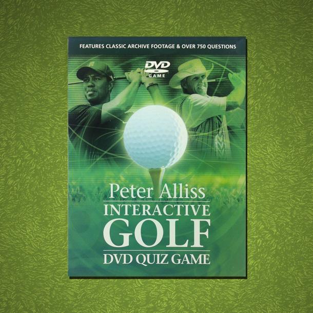 Peter Alliss Interactive Golf DVD Quiz Game