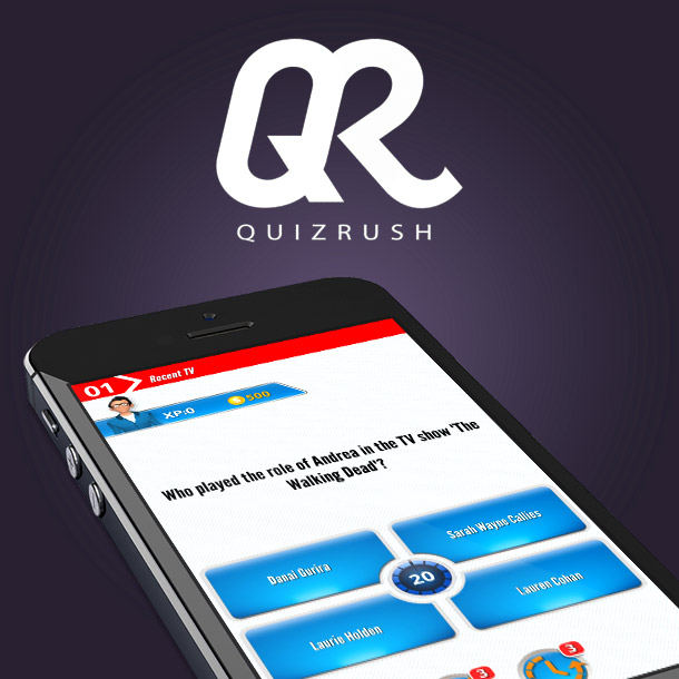Quiz Rush Mobile Trivia Game