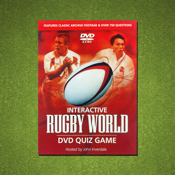 Rugby World Interactive DVD Quiz Game