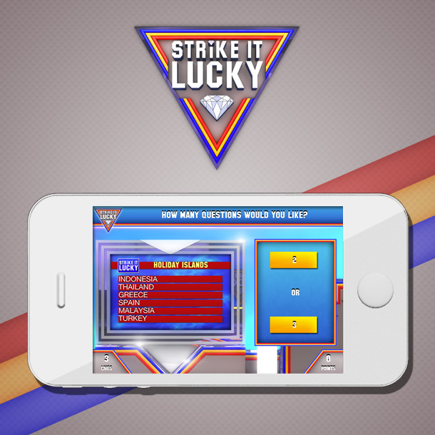 Strike It Lucky Mobile Quiz Game