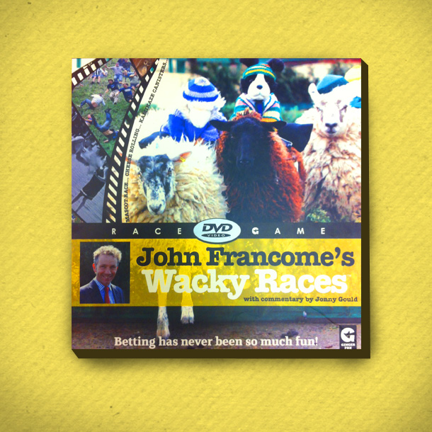John Francome's Wacky Races Interactive DVD Game